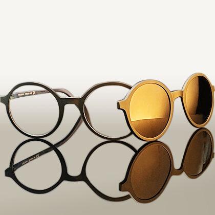 Indie Eyeland előtétes clipon szemüveg